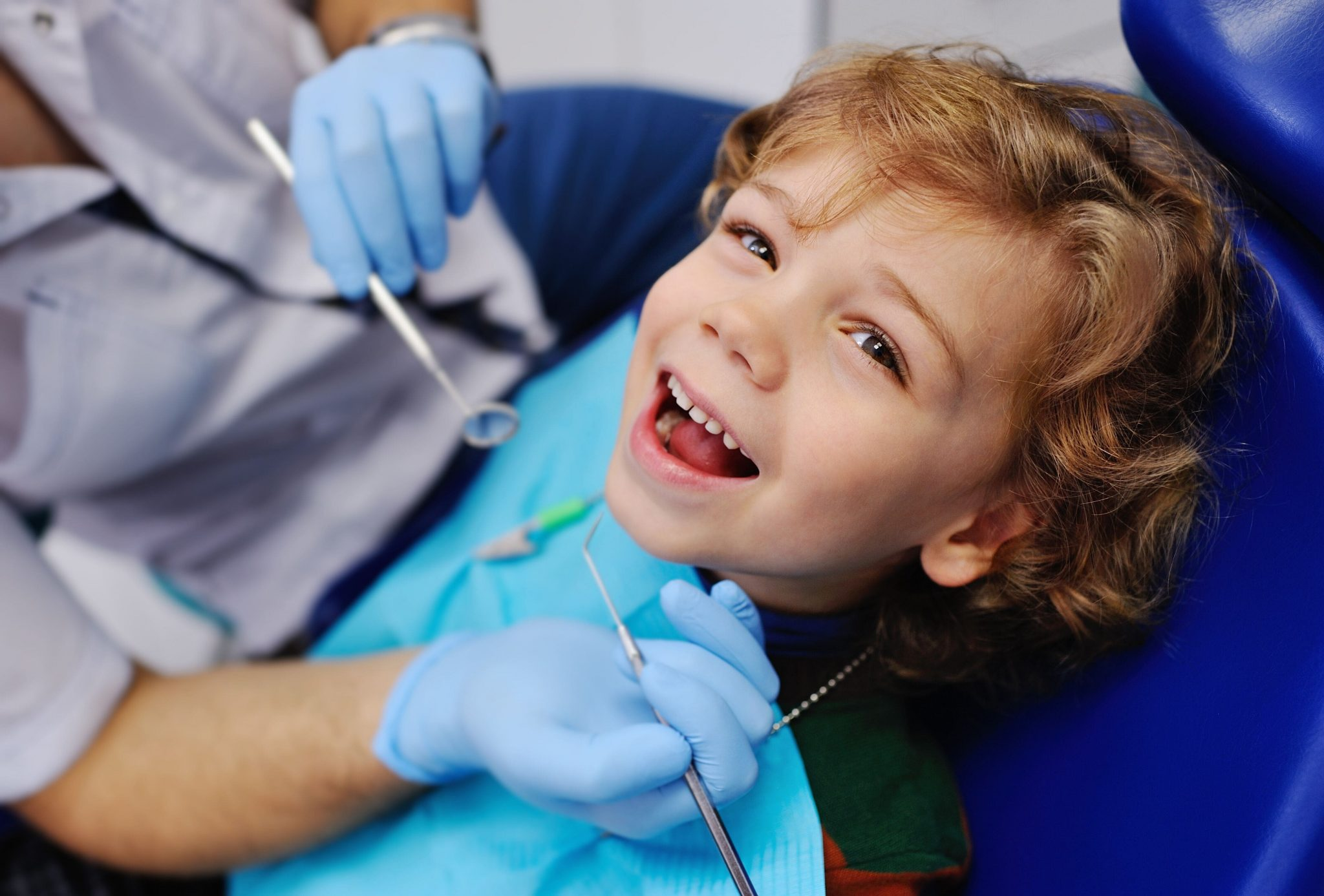 Pediatric Dentistry Of Syosset Little Boy Getting Dental Work Done